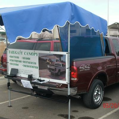 bluehitch1.JPG & Tailgate Canopy | Genesis Enterprises