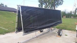 Mobile Shade Canopy